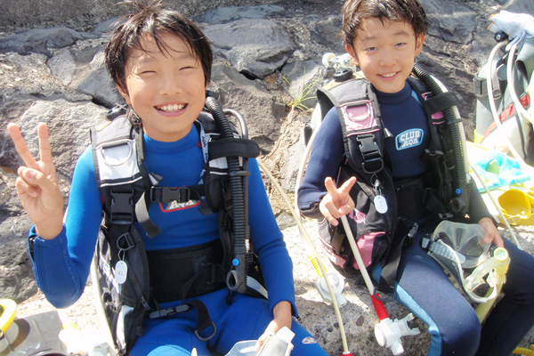 伊豆の体験ダイビング01